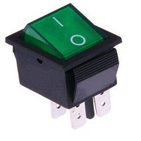 INTERRUPTOR LUMINOSO VERDE F 11405L